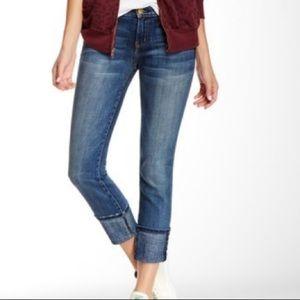 Current Elliott beatnik cuffed skinny jeans 28